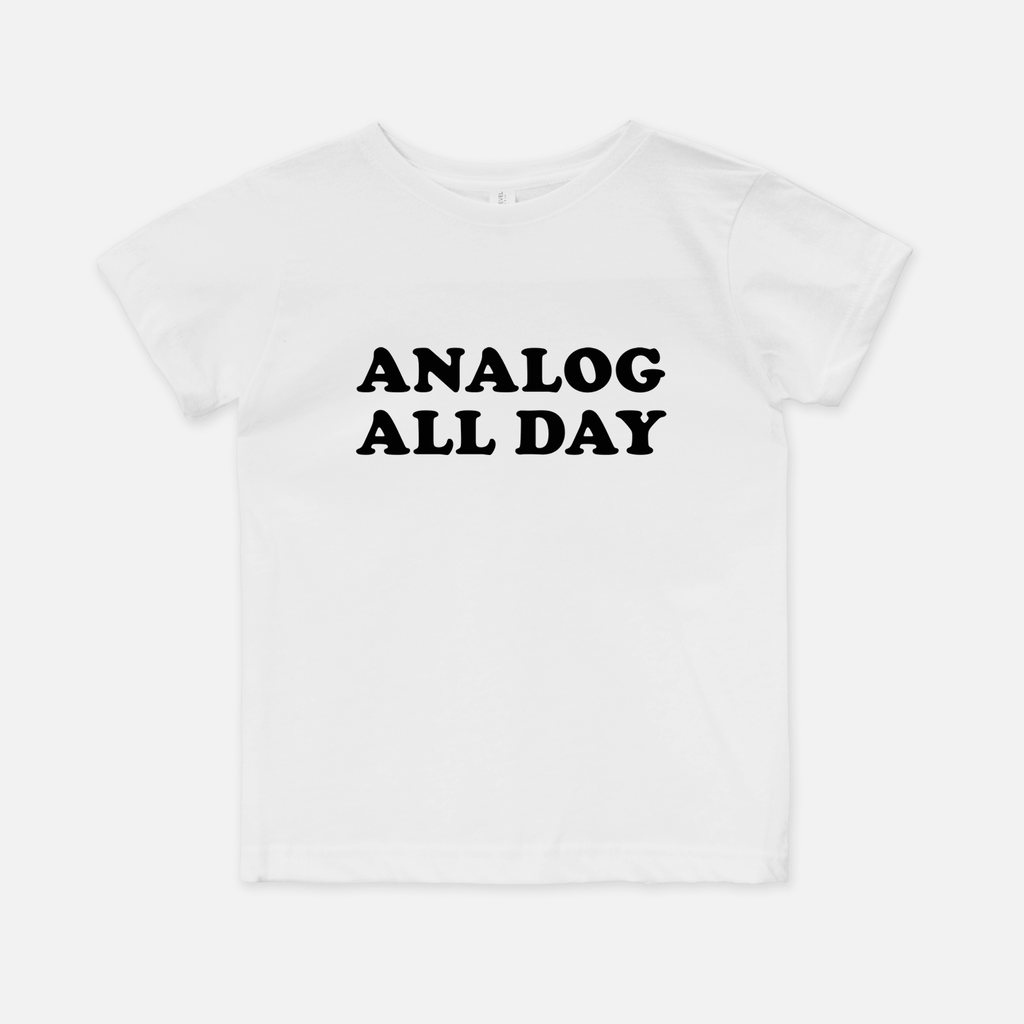 Analog All Day Kids Tee