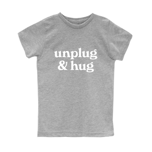 Unplug & Hug Kids Tee