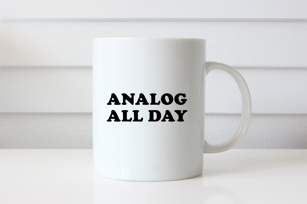 Analog All Day Mug