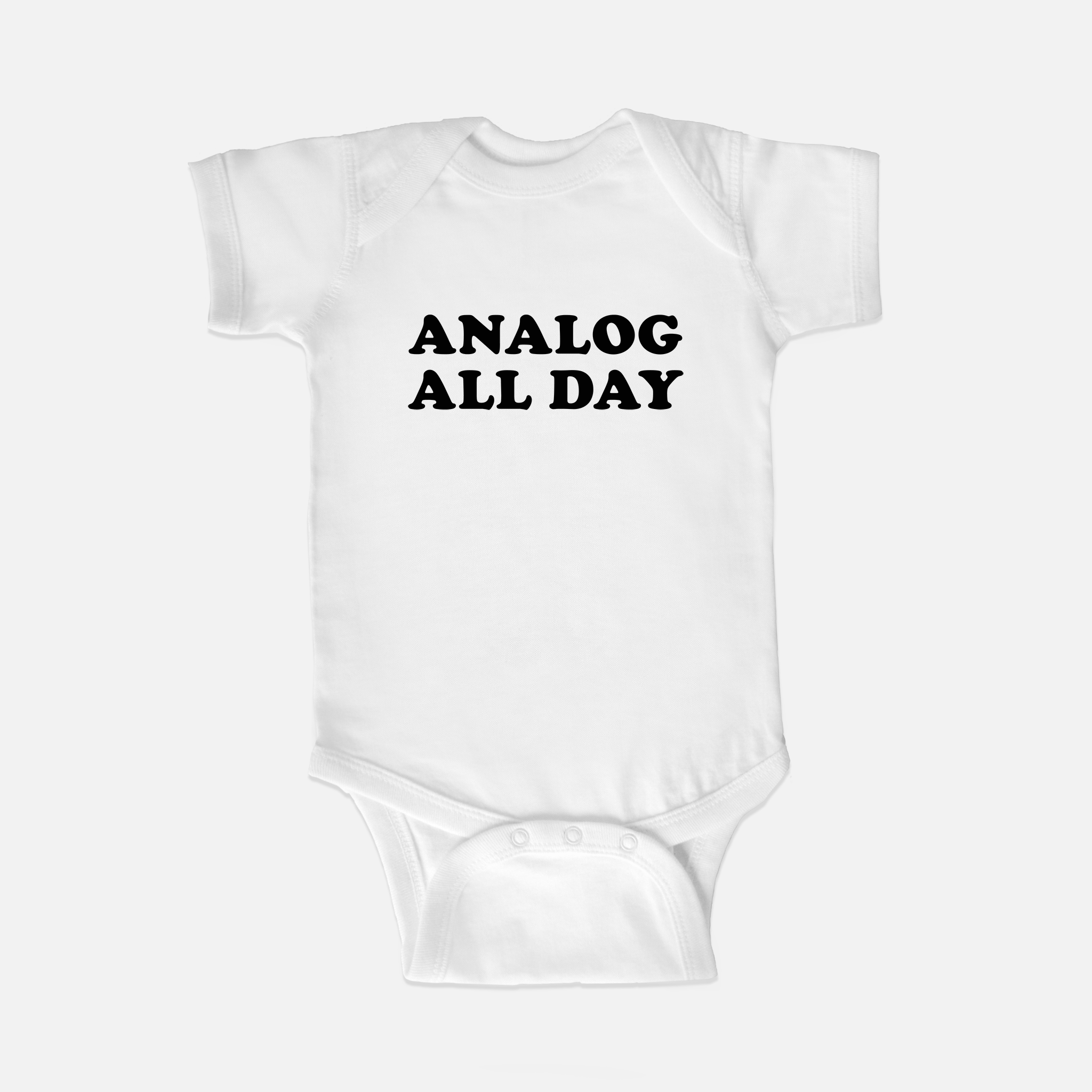 Analog All Day Baby One Piece Bodysuit