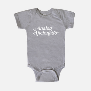 Analog Aficionado Baby One Piece Bodysuit