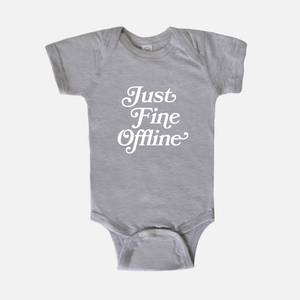 Just Fine Offline Baby One Piece Bodysuit