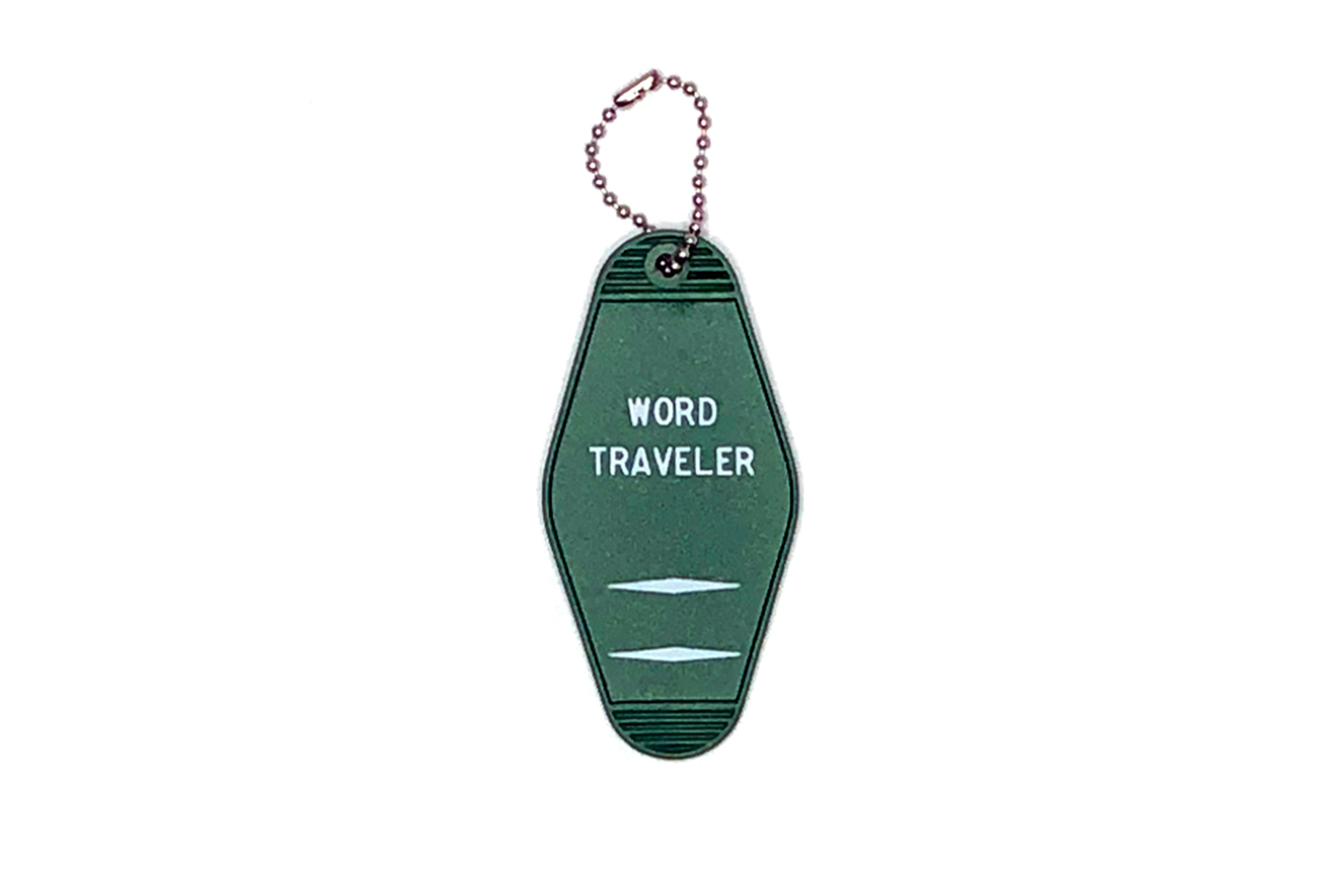 Word Traveler Key Tag