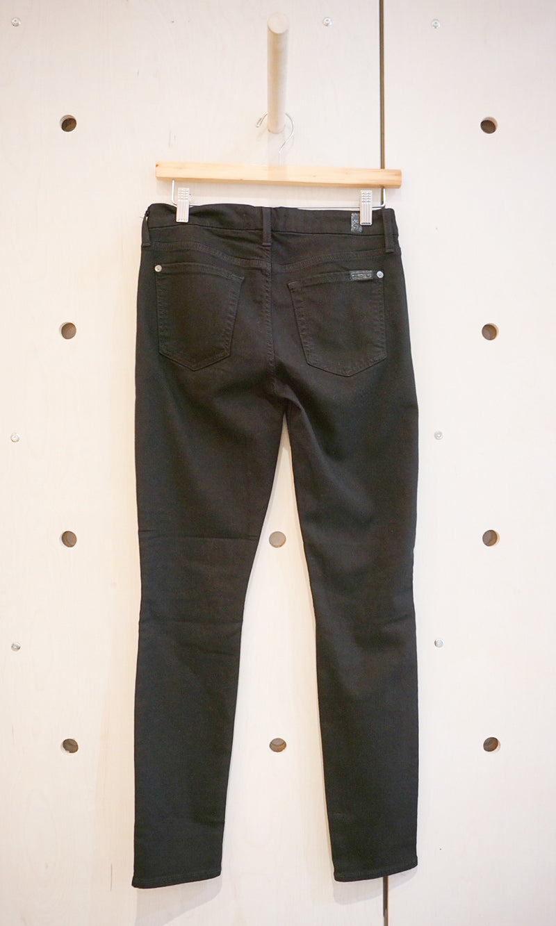 (B)air Ankle Skinny Denim Kneeslits