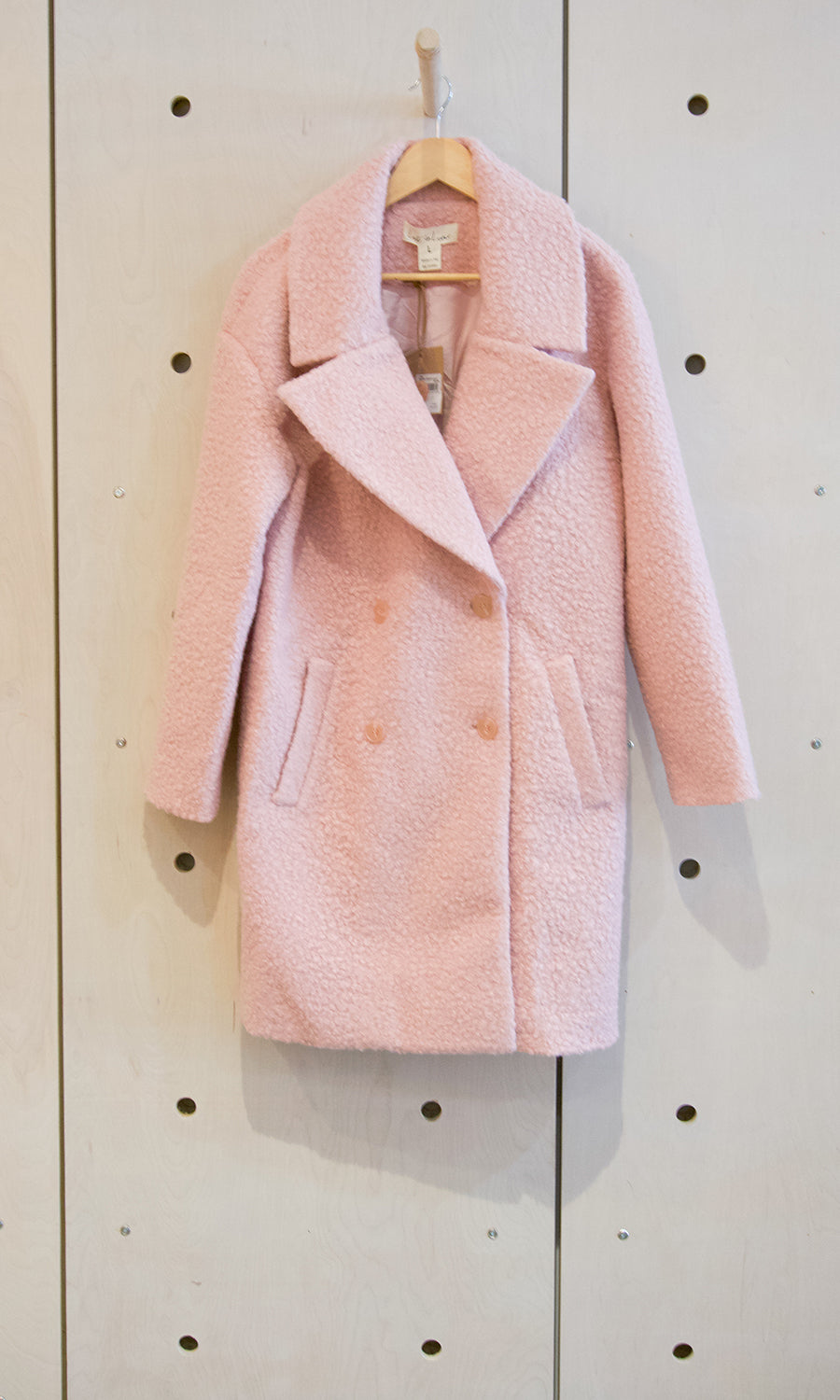 Lost In Lunar Teisha Teddy Coat