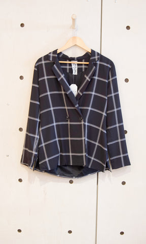 Plaid Romance Coat