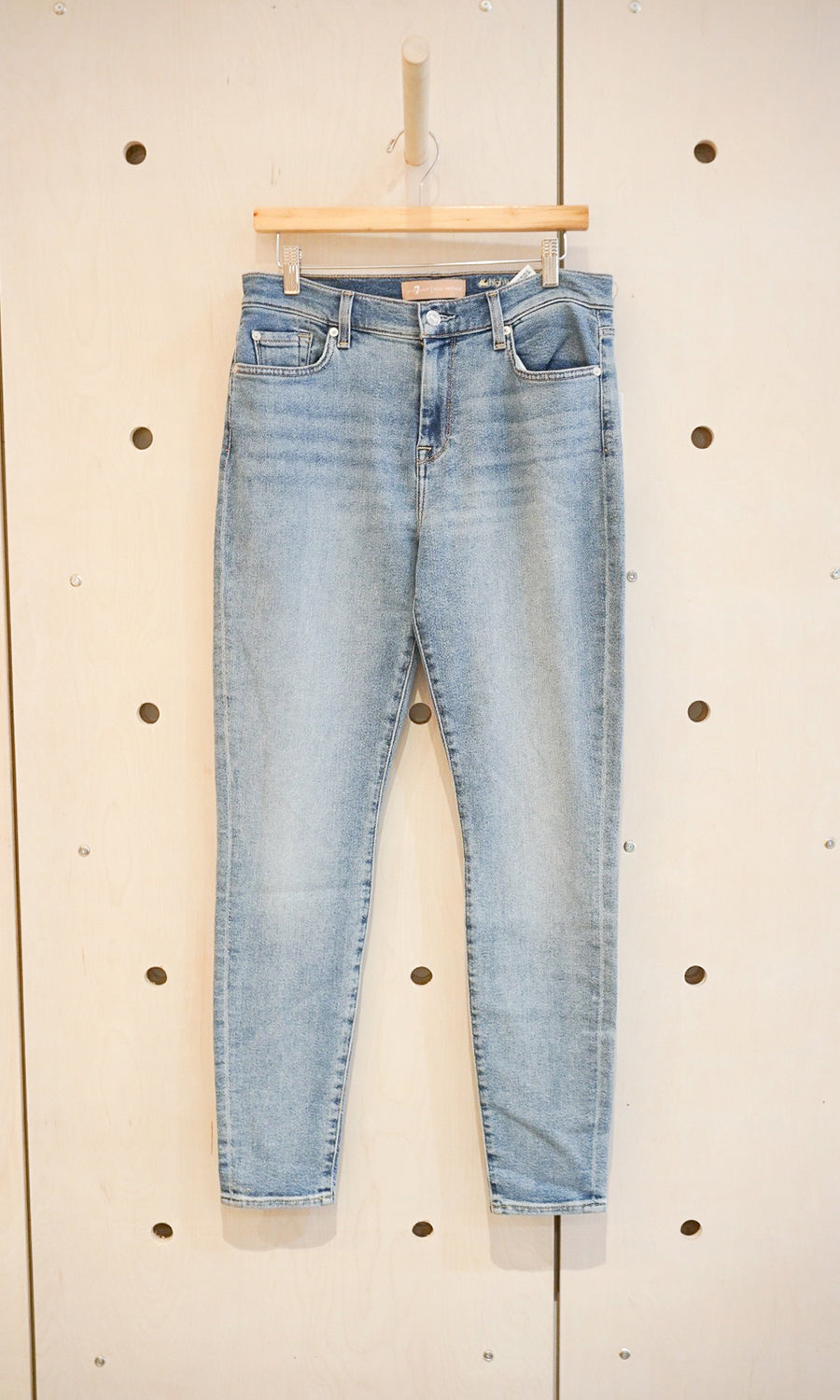 Luxe Vintage High Waisted Skinny Jeans