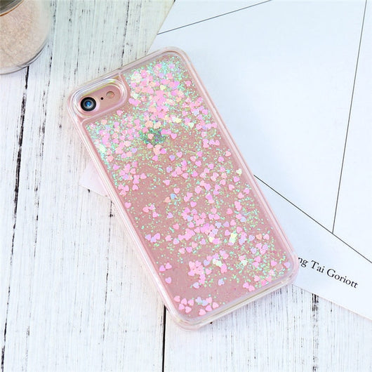 Cute Quicksand Cases For iPhone 5s SE