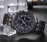 Men Quartz Full steel watch