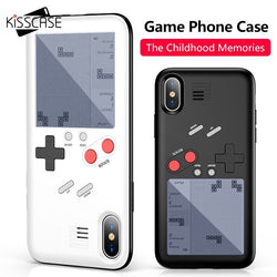 Tetris Game Machine Phone Case For iPhone X 6 6S Plus