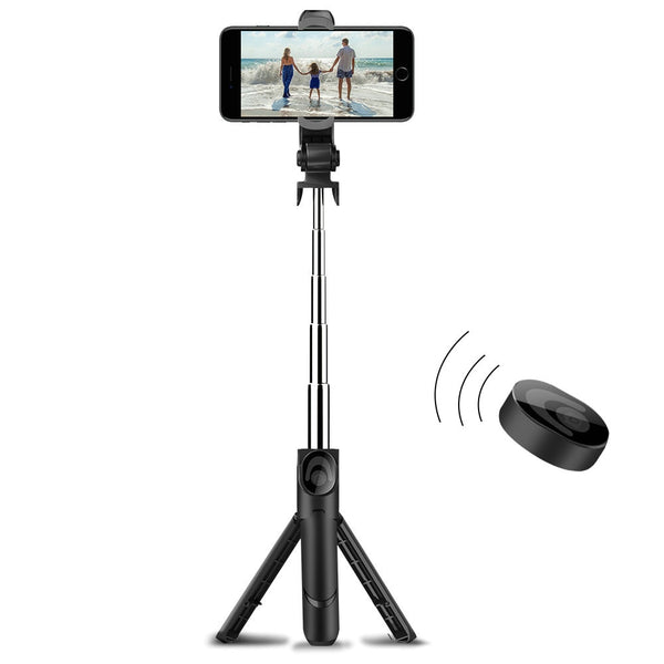 Bluetooth Monopod Selfie Stick Tripod for IOS & Android