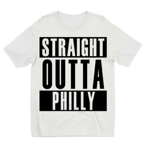 Straight Outta Phily Sublimation Kids T-Shirt