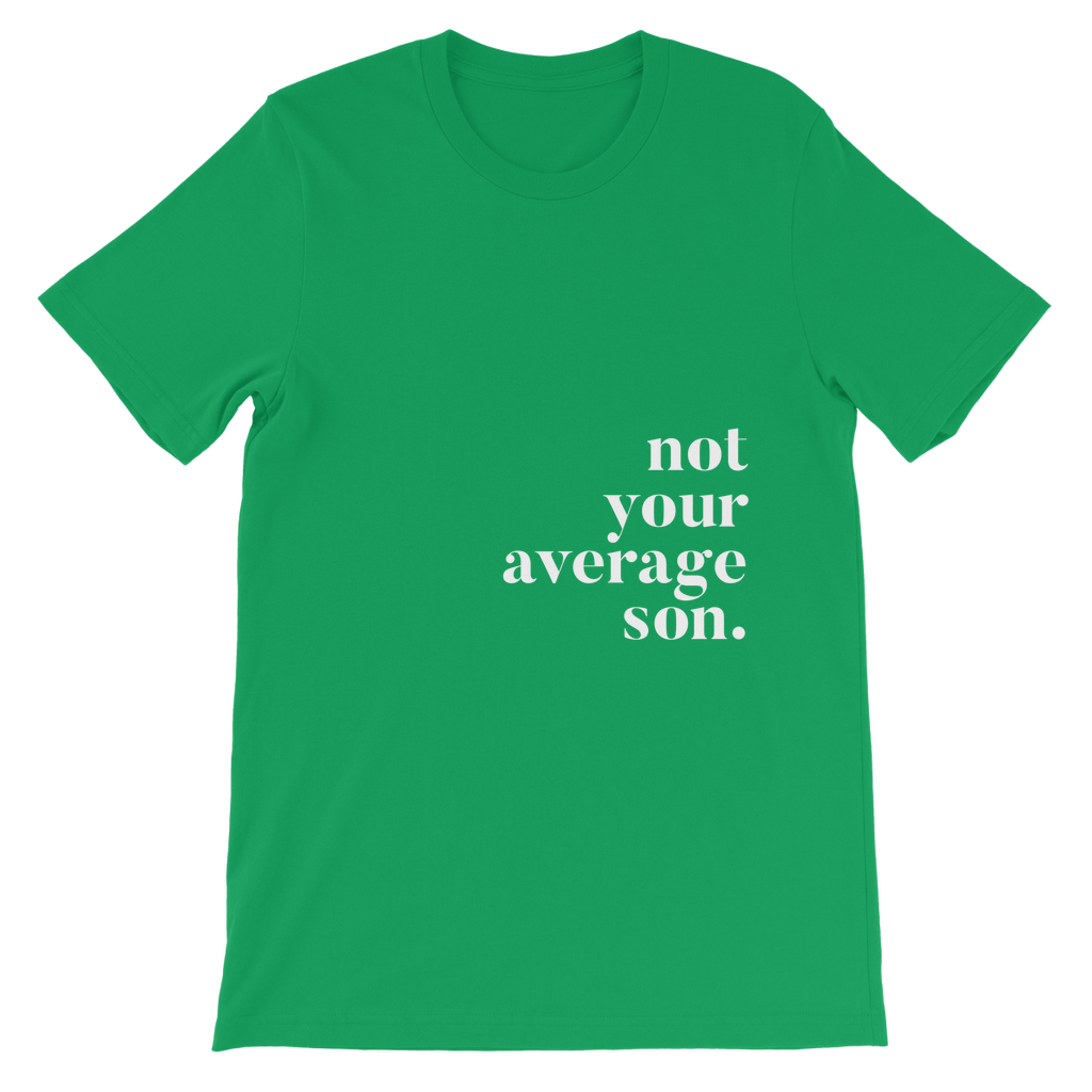 not your average son Classic Kids T-Shirt