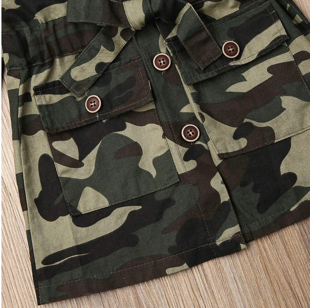 Soldierette Camo Jacket