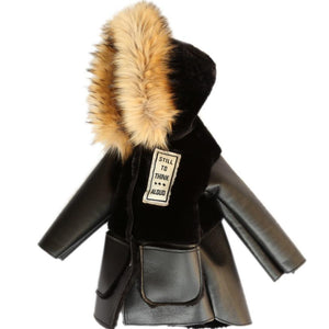 Thinking Out Loud Shearling Parka