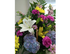 A9 - All Occasion Planter Basket Mixed Colours