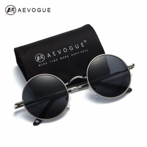 Round Alloy Sunglasses