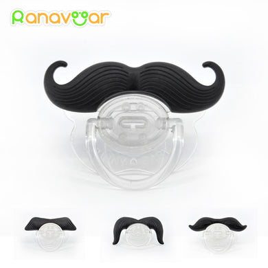 Funny Mustache Baby Pacifier - 247onlineSale.com