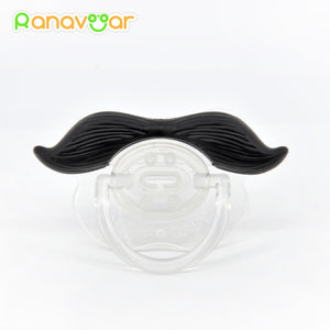 Funny Mustache Baby Pacifier