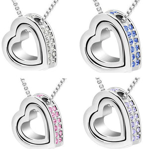 Heart Pendant Necklace - 247onlineSale.com