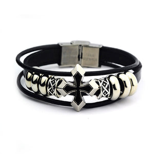 Rivet Leather  Wristband - 247onlineSale.com