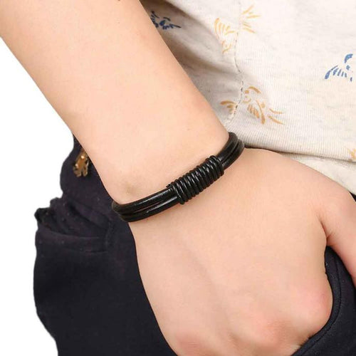 Leather Cowhide Wrist Chains - 247onlineSale.com