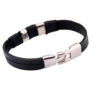 Leather Cowhide Wrist Bracelets - 247onlineSale.com