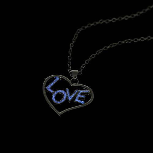 Love Letter Luminous Pendant Necklace - 247onlineSale.com
