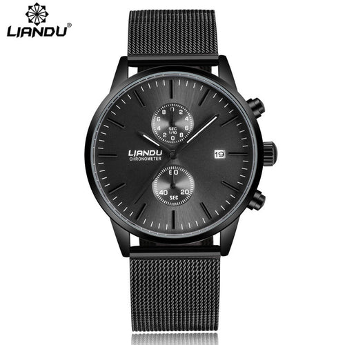 Unisex Trendy Stainless Wrist Watch - 247onlineSale.com