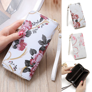 Flower Painting Wallet - 247onlineSale.com