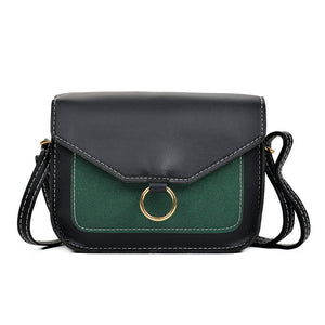 Ring Leather Crossbody Bags - 247onlineSale.com