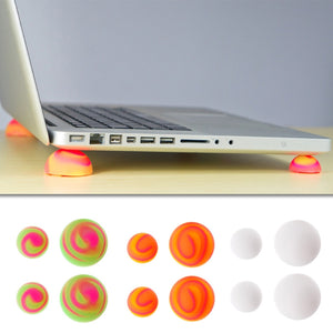 Multicolor Laptop Cooling Stand Leg + Skidproof Pads - 247onlineSale.com