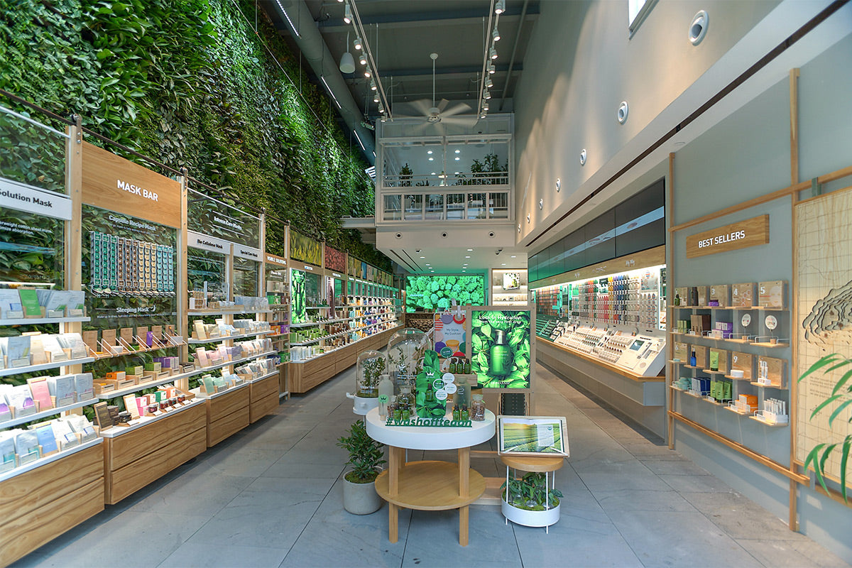 NYC's Largest Public Indoor Green Wall