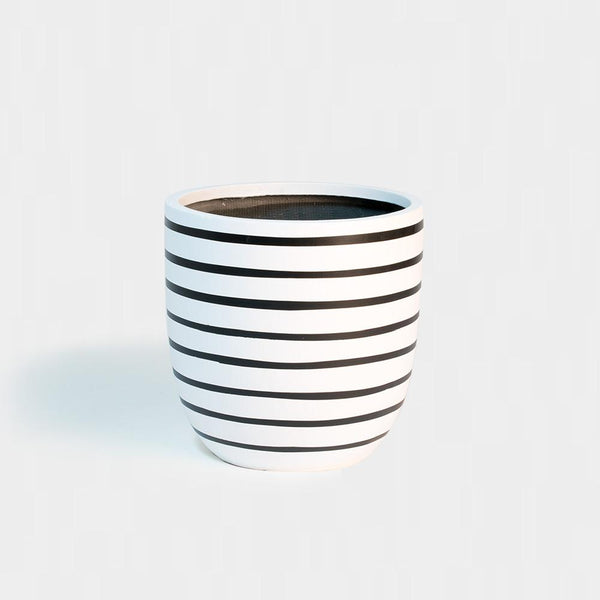 Design Twins Pinstripe - Medium | Pots For Indoor Plants