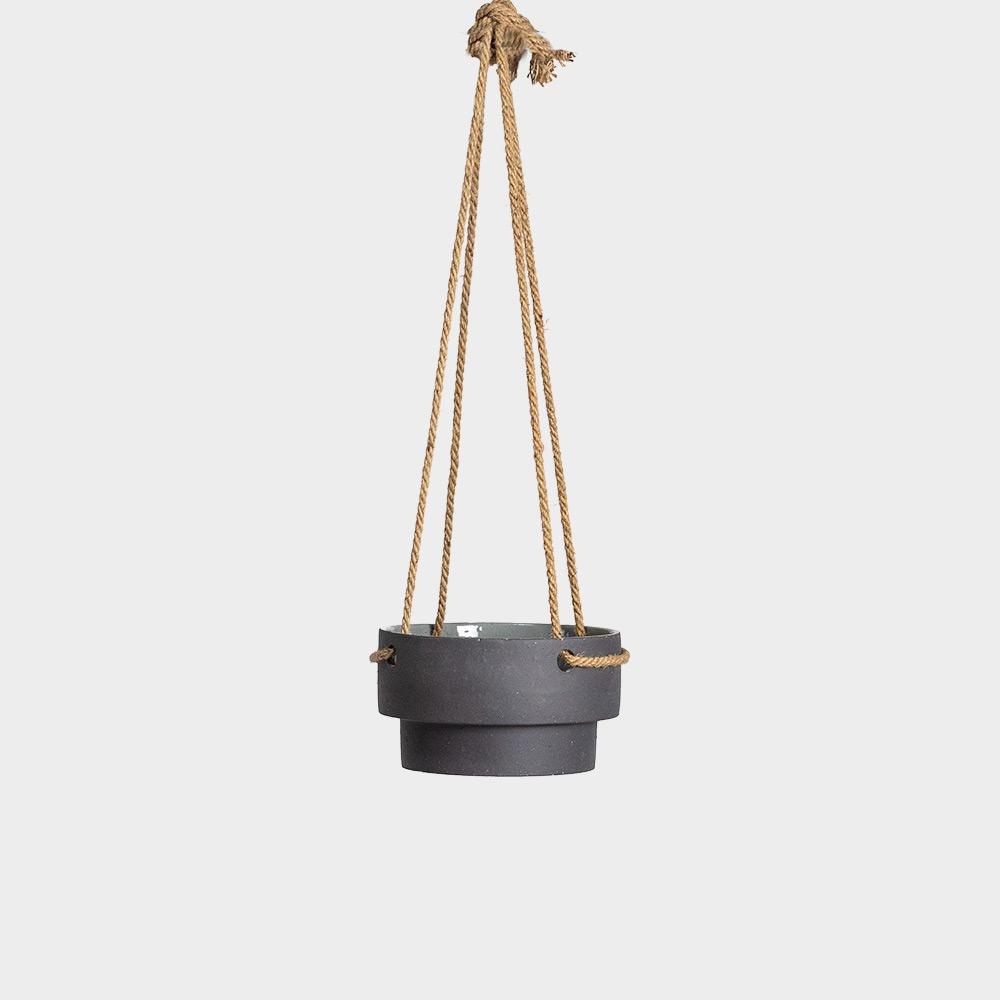 Ferm Living Low Hanging Planter | Pots For Indoor Plants