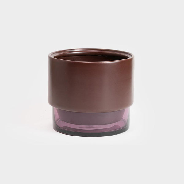 Lucie Kaas GRO Planter Medium | Red Mahogany