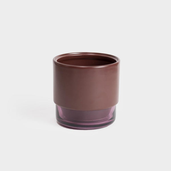 Lucie Kaas GRO Planter Small | Red Mahogany