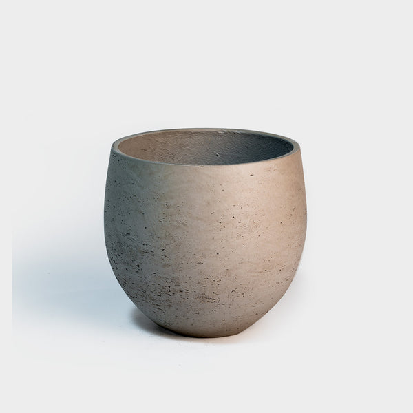 .Pottery Pots. Mini Orb XL Grey Washed