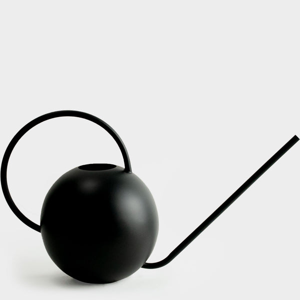 Watering Can Round | Black