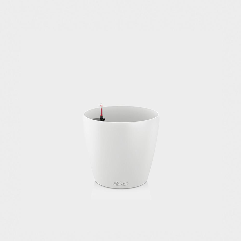 Lechuza Classico Color 28 - White : Self Watering Container