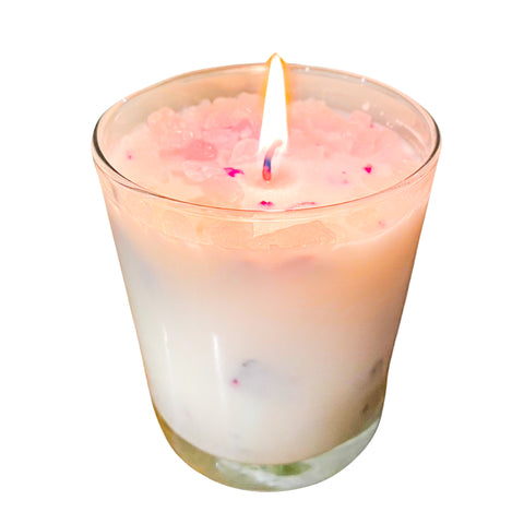 Lust Bomb Rose Quartz Candle Ltd. Edition