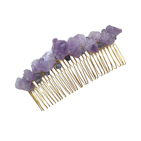 Gemstone Hair Combs