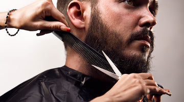 A step-by-step method for trimming your beard