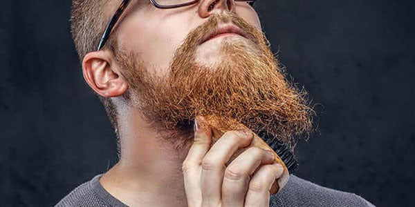 Brush your beard everyday