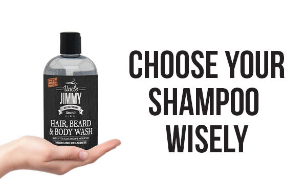 Choose your shampoo wisely