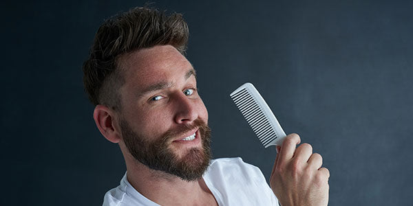 Grab a beard comb