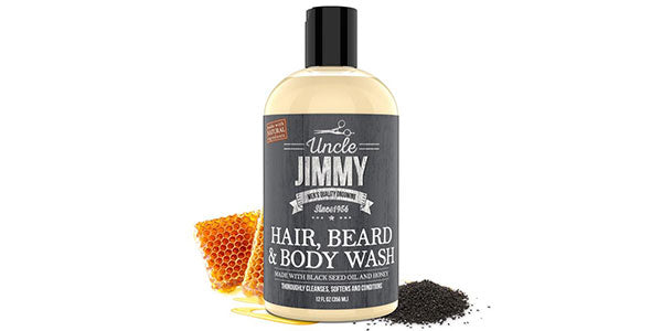 Hair Beard & Body Wash