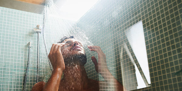 Hot Shower is not so good for your beard hair