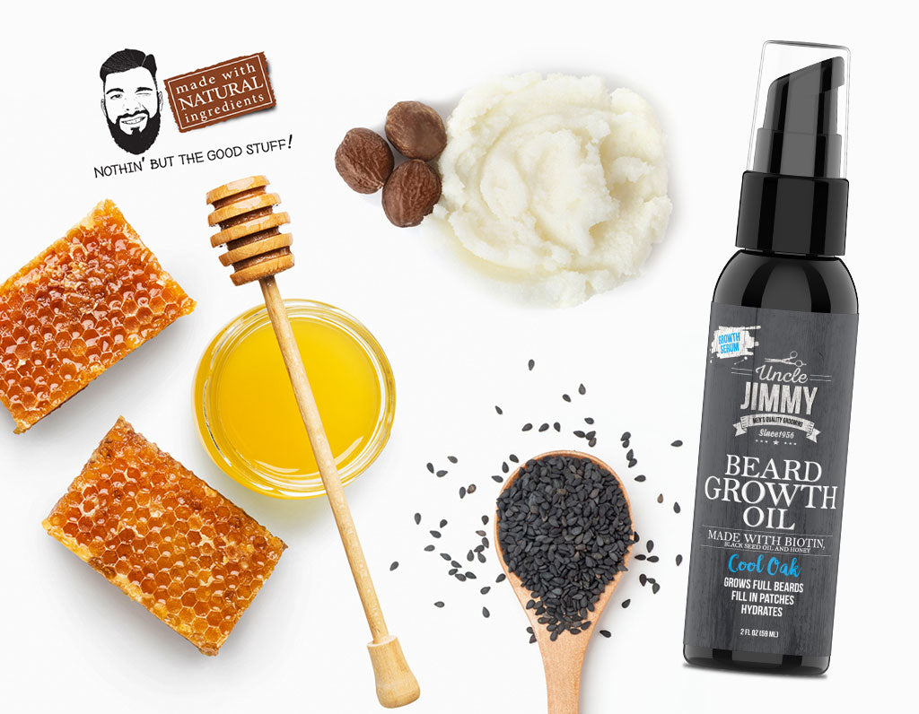 Uncle Jimmy Beard Oil Smells Great