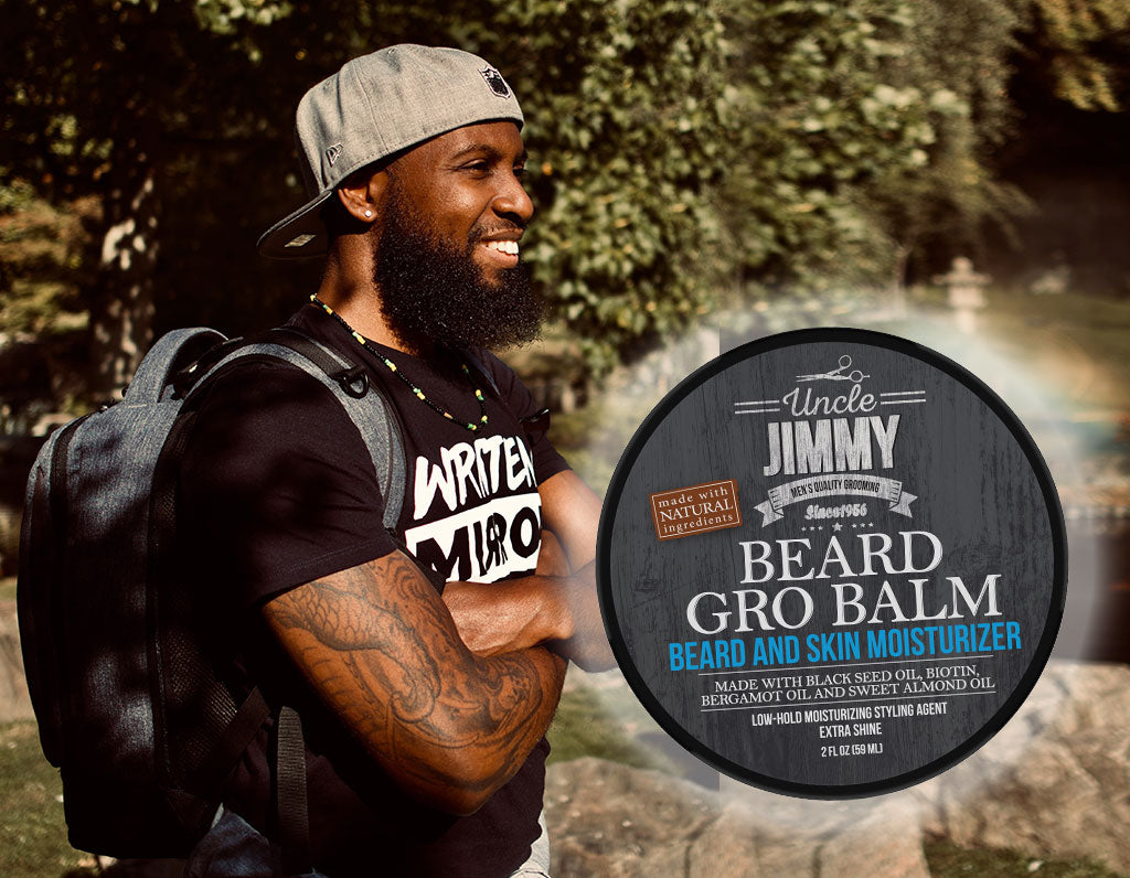 Keep Your Face Moisturized with Uncle Jimmy Products